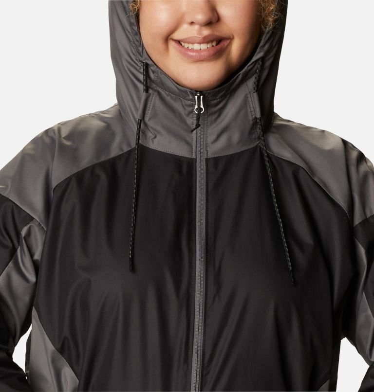 Women's Side Hill™ Lined Windbreaker - Plus Size Women's Side Hill™ Lined Windbreaker - Plus Size, a2