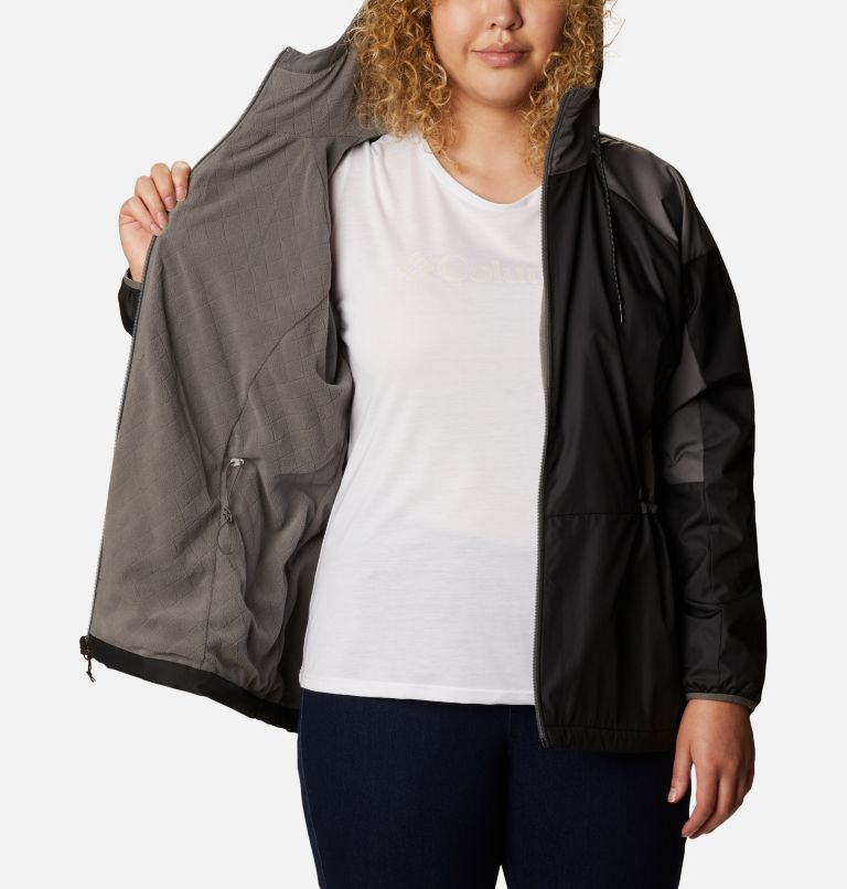 Women's Side Hill™ Lined Windbreaker - Plus Size Women's Side Hill™ Lined Windbreaker - Plus Size, a3