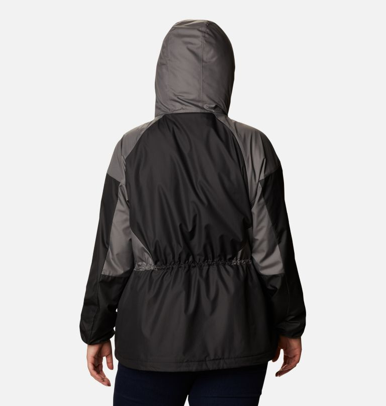 Women's Side Hill™ Lined Windbreaker - Plus Size Women's Side Hill™ Lined Windbreaker - Plus Size, back