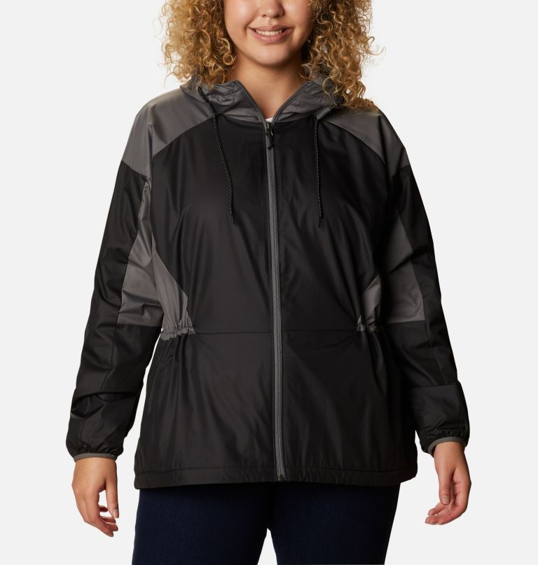 Women's Side Hill™ Lined Windbreaker - Plus Size Women's Side Hill™ Lined Windbreaker - Plus Size, front