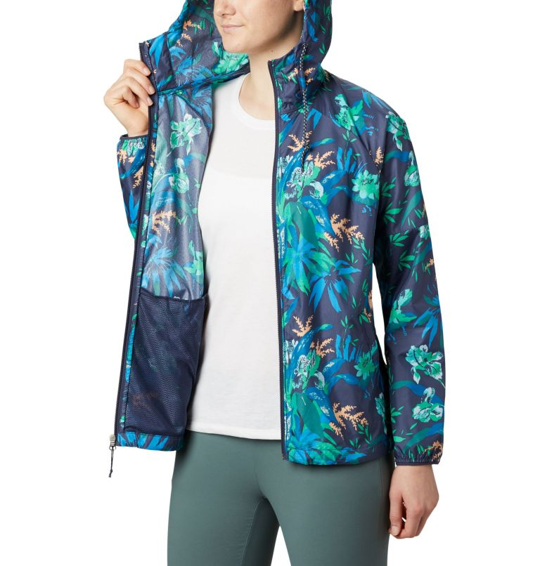 Women's Side Hill™ Printed Windbreaker Women's Side Hill™ Printed Windbreaker, a3