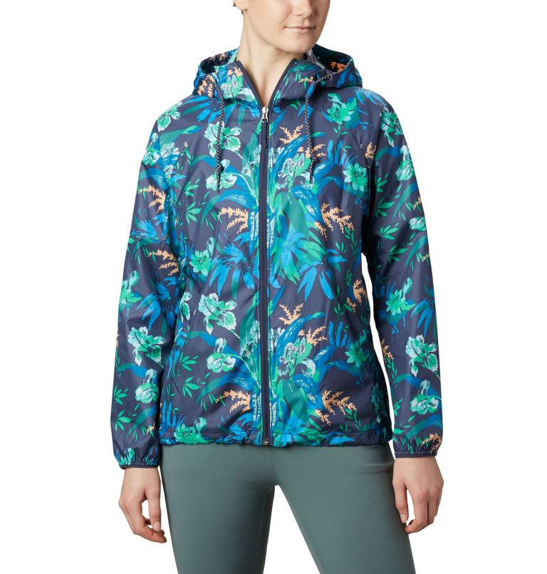 Women's Side Hill™ Printed Windbreaker Women's Side Hill™ Printed Windbreaker, front