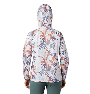 Coupe-vent imprimé Side Hill™ pour femme Side Hill™ Printed Windbreaker | 467 | L, New Moon Magnolia Floral, back