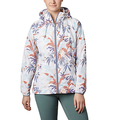 Coupe-vent imprimé Side Hill™ pour femme Side Hill™ Printed Windbreaker | 467 | L, New Moon Magnolia Floral, front
