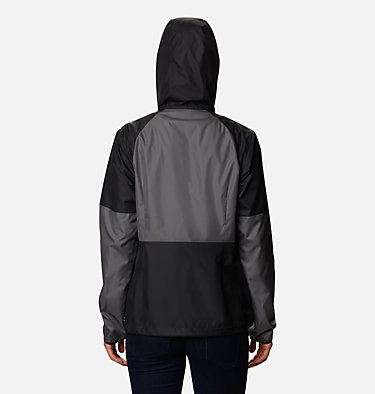 Women's Side Hill™ Windbreaker Side Hill™ Windbreaker | 010 | M, Black, City Grey, back