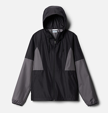 Women's Side Hill™ Windbreaker Side Hill™ Windbreaker | 010 | M, Black, City Grey, front