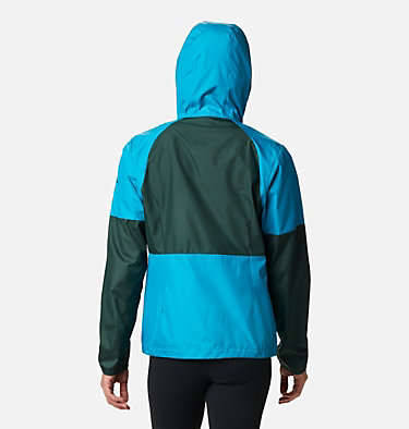Women's Side Hill™ Windbreaker Side Hill™ Windbreaker | 010 | M, Fjord Blue, Spruce, back