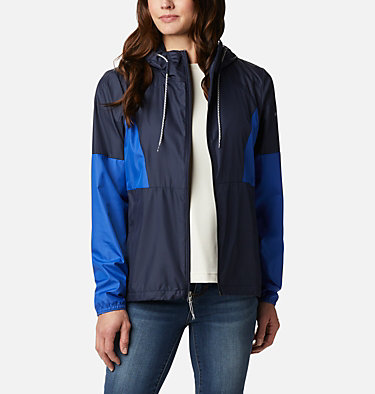 Women's Side Hill™ Windbreaker Side Hill™ Windbreaker | 010 | M, Dark Nocturnal, Lapis Blue, front
