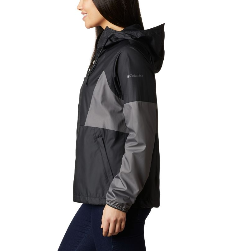 Side Hill™ Windbreaker | 010 | L Women's Side Hill™ Windbreaker, Black, City Grey, a1