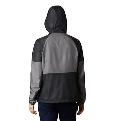 Coupe-vent Side Hill™ pour femme Side Hill™ Windbreaker | 010 | L, Black, City Grey, back