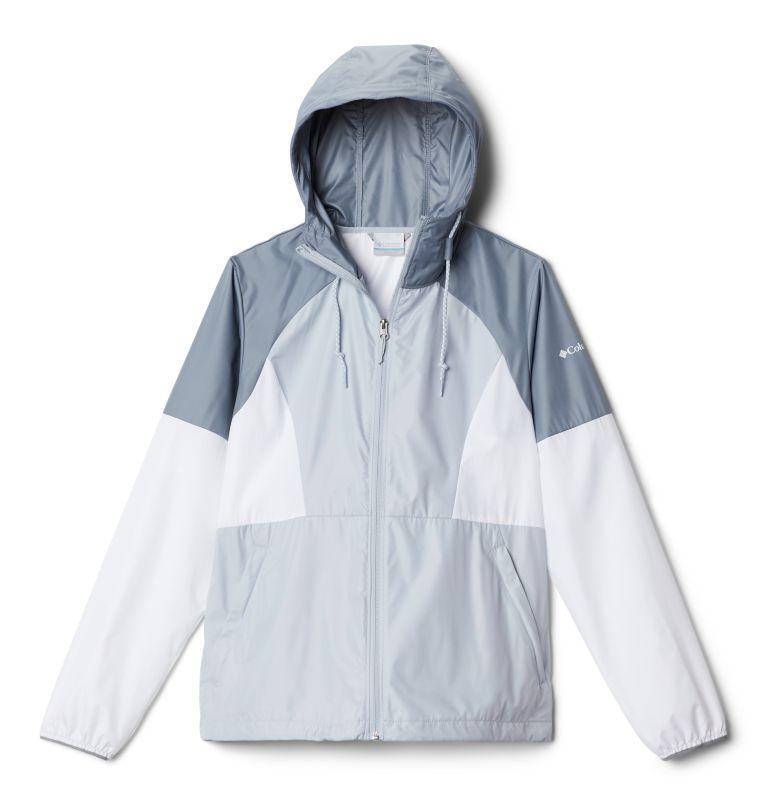 Side Hill™ Windbreaker | 031 | L Women's Side Hill™ Windbreaker, Cirrus Grey, White, Tradewinds Grey, front