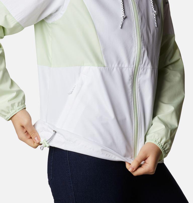 Side Hill™ Windbreaker | 103 | XS Women's Side Hill™ Windbreaker - Plus Size, White, Light Lime, a4