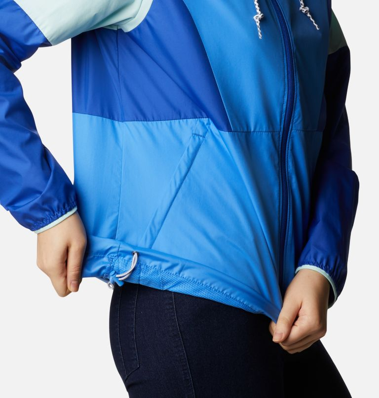 Side Hill™ Windbreaker   485   XS Women's Side Hill™ Windbreaker - Plus Size, Harbor Blue, Lapis Blue, Wind, a4