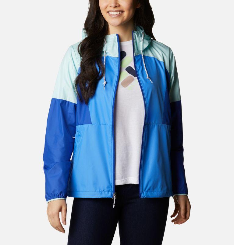 Side Hill™ Windbreaker   485   XS Women's Side Hill™ Windbreaker - Plus Size, Harbor Blue, Lapis Blue, Wind, a6