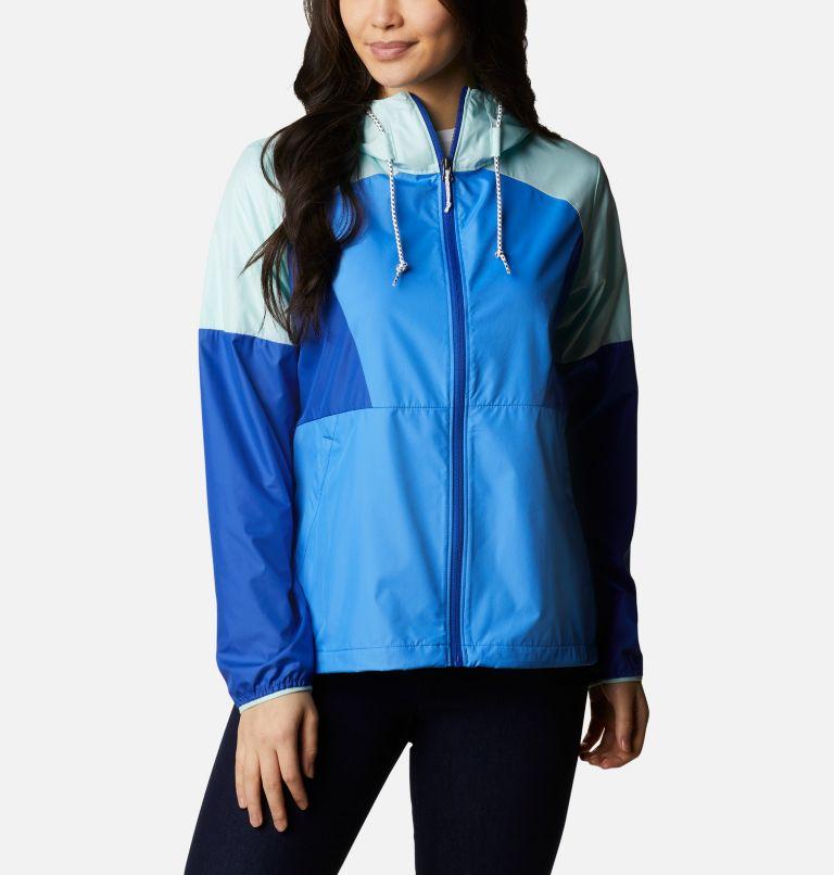 Side Hill™ Windbreaker   485   XS Women's Side Hill™ Windbreaker - Plus Size, Harbor Blue, Lapis Blue, Wind, front
