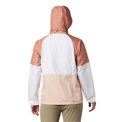 Coupe-vent Side Hill™ pour femme Side Hill™ Windbreaker | 010 | L, Peach Cloud, White, Cedar Blush, back