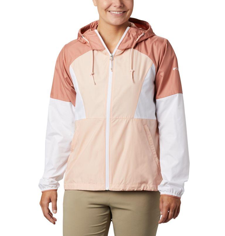 Side Hill™ Windbreaker | 870 | L Women's Side Hill™ Windbreaker, Peach Cloud, White, Cedar Blush, front