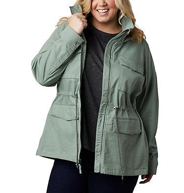 Women's Tummil Pines™ Jacket – Plus Size Tummil Pines™ Jacket | 191 | 1X, Light Lichen, front