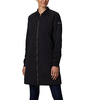 Manteau long Day Trippin'™ pour femme Day Trippin'™ Long Jacket | 648 | XL, Black, front