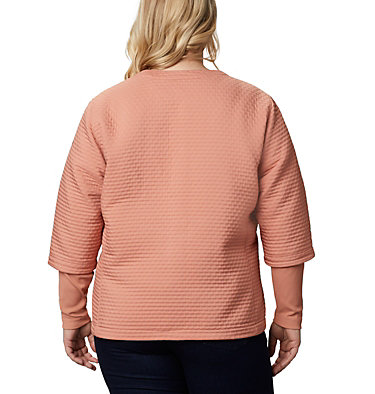 Chandail Place to Place™ pour femme – Grandes tailles Place to Place™ Jacket | 191 | 1X, Cedar Blush, back