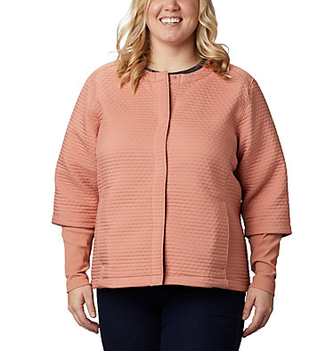 Chandail Place to Place™ pour femme – Grandes tailles Place to Place™ Jacket | 191 | 1X, Cedar Blush, front