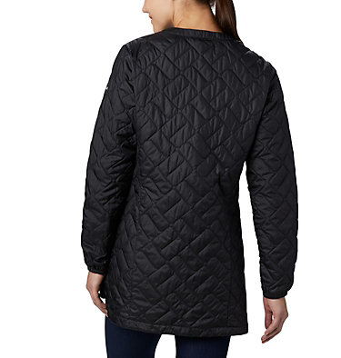 Manteau mi-long Sweet View™ pour femme Sweet View™ Mid Jacket | 010 | L, Black, back