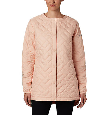 Manteau mi-long Sweet View™ pour femme Sweet View™ Mid Jacket | 010 | L, Peach Cloud, front
