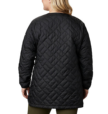 Manteau mi-long Sweet View™ pour femme – Grandes tailles Sweet View™ Mid Jacket | 870 | 1X, Black, back