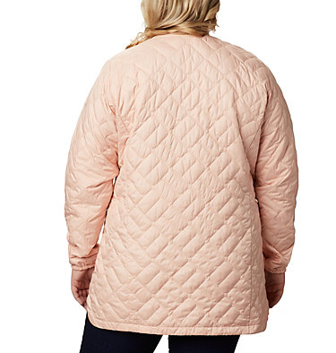 Women's Sweet View™ Mid Jacket – Plus Size Sweet View™ Mid Jacket | 870 | 1X, Peach Cloud, back