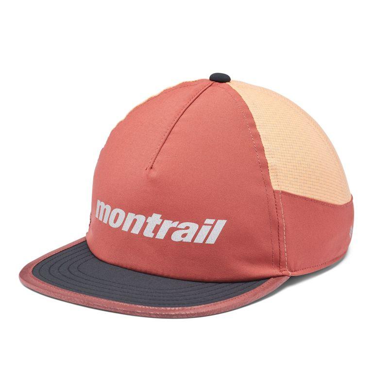 Montrail™ Running Hat II | 638 | O/S Unisex Montrail™ Running Hat II, Dusty Crimson, Black, Bright Nectar, front