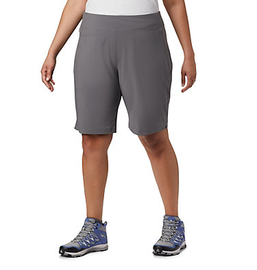 Women's Place To Place™ II Shorts - Plus Size Place To Place™ II Short | 023 | 3X, City Grey, front