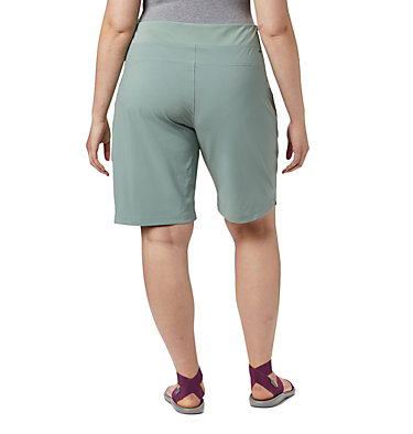 Women's Place To Place™ II Shorts - Plus Size Place To Place™ II Short | 305 | 1X, Light Lichen, back