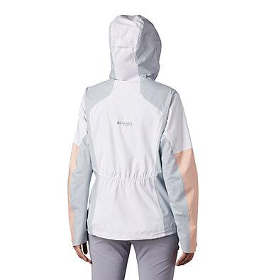 Manteau Titan Pass™ 2,5 couches pour femme Titan Pass™ 2.5L Shell | 101 | L, White, Peach Cloud, Cirrus Grey, back