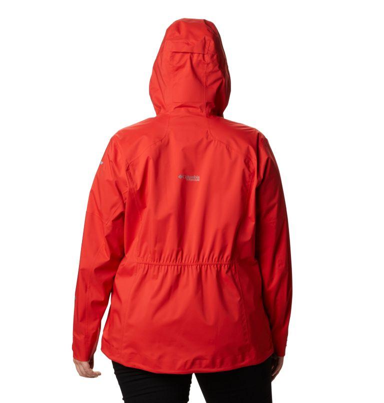 Manteau Titan Pass™ 2,5 couches pour femme – Grandes tailles Manteau Titan Pass™ 2,5 couches pour femme – Grandes tailles, back
