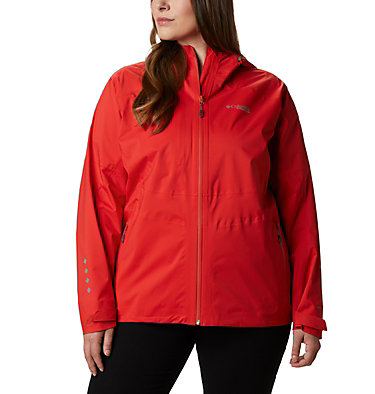 Women's Titan Pass™ 2.5L Shell – Plus Size Titan Pass™ 2.5L Shell | 101 | 3X, Bold Orange, front