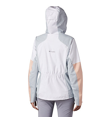Veste Titan Pass™ 2,5L Femme Titan Pass™ 2.5L Shell | 101 | L, White, Peach Cloud, Cirrus Grey, back