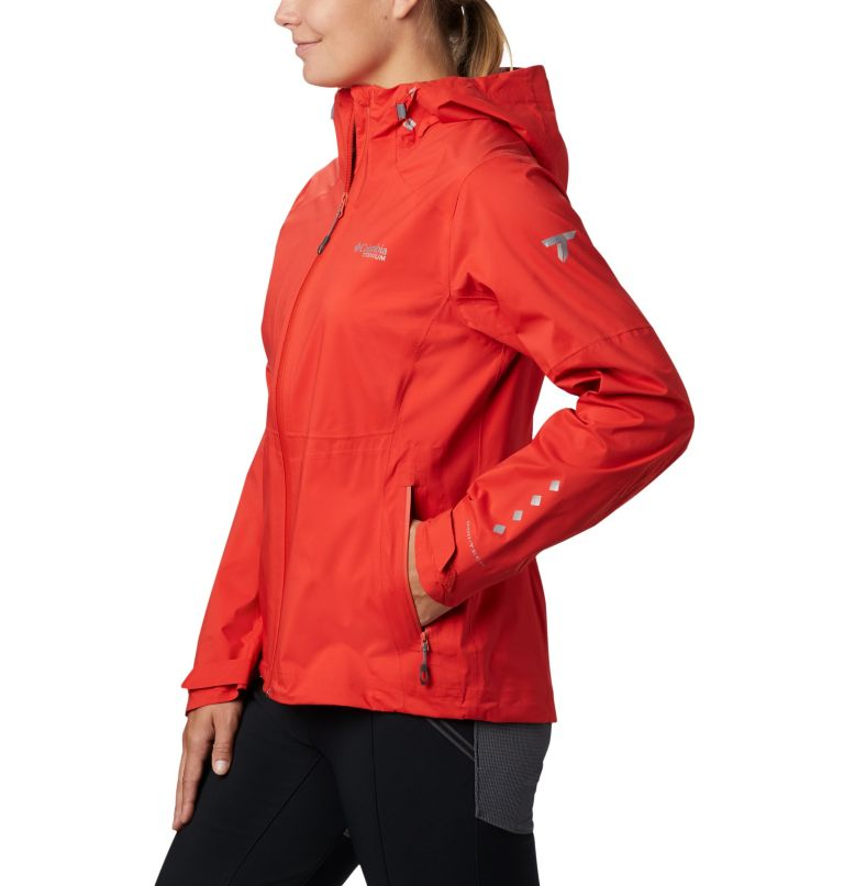 Titan Pass™ 2.5L Shell | 843 | XL Chubasquero Titan Pass™ 2.5L para mujer, Bold Orange, a1