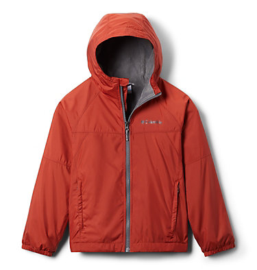 Boys' Ethan Pond™ Fleece Lined Jacket Ethan Pond™Fleece Lined Jacket | 327 | L, Carnelian Red, front