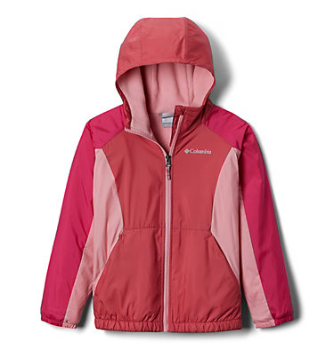 Girls' Ethan Pond™ Fleece Lined Jacket Ethan Pond™Fleece Lined Jacket | 634 | L, Rouge Pink, Cactus Pink, front