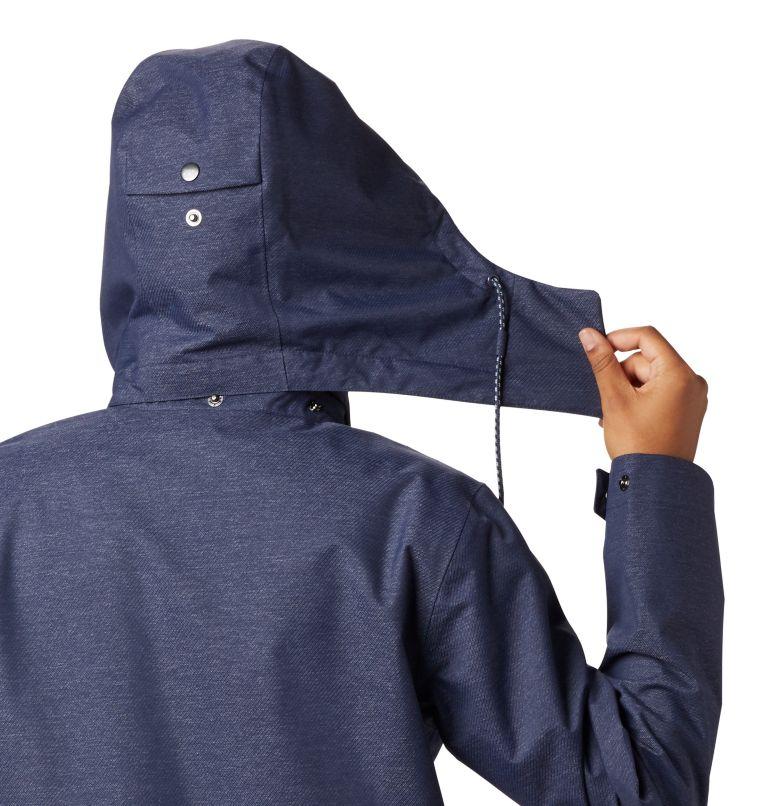 East Park™  Mackintosh Jacket | 466 | XS Women's East Park™ Mackintosh Jacket, Nocturnal Denim Twill, a2