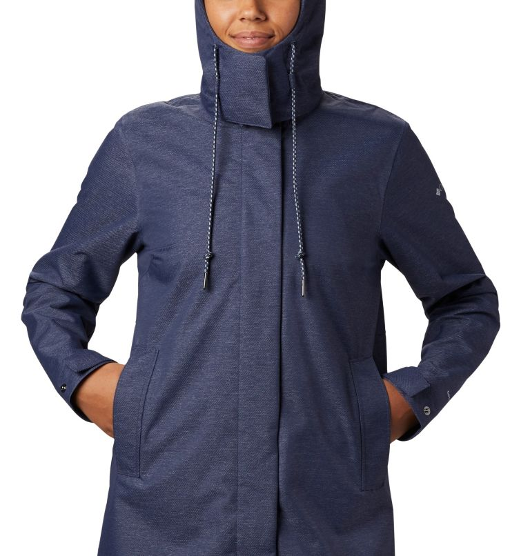 East Park™  Mackintosh Jacket | 466 | XS Women's East Park™ Mackintosh Jacket, Nocturnal Denim Twill, a3