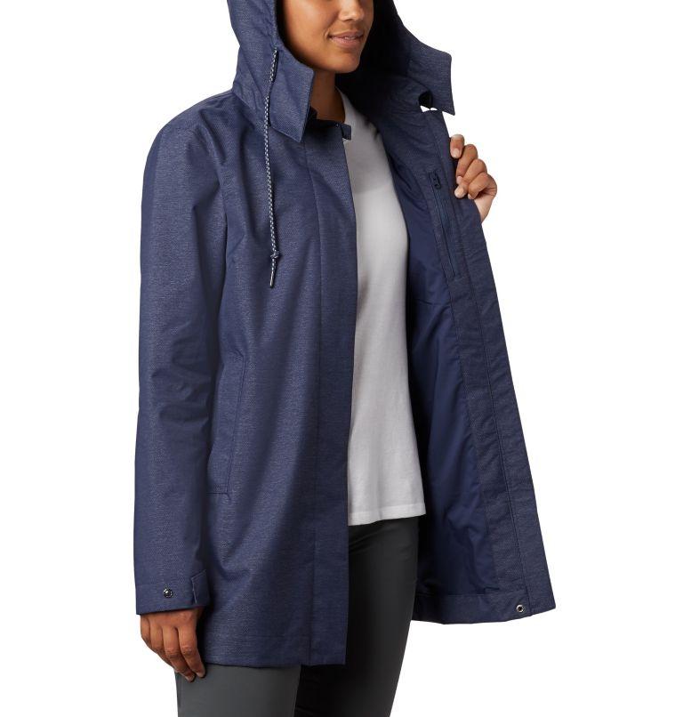 East Park™  Mackintosh Jacket | 466 | XS Women's East Park™ Mackintosh Jacket, Nocturnal Denim Twill, a4