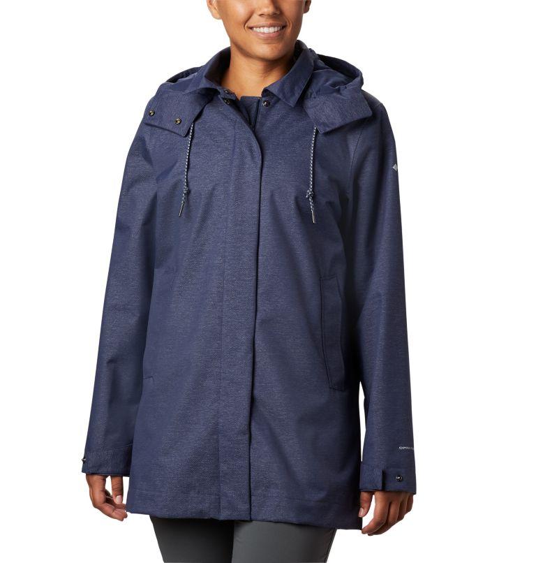 East Park™  Mackintosh Jacket | 466 | XS Women's East Park™ Mackintosh Jacket, Nocturnal Denim Twill, front