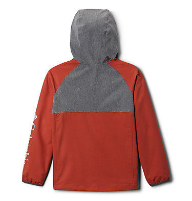 Boys' Rocky Range™ Softshell Rocky Range™Softshell | 011 | L, Shark, Carnelian Red, back