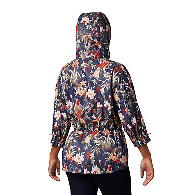 Women's Poe Creek™ Jacket Poe Creek™ Jacket | 316 | L, Nocturnal, Birds and Branches, back