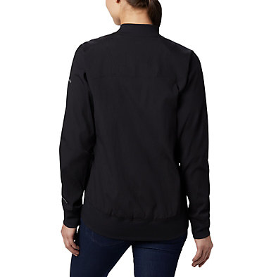 Blouson d'aviateur long Bachy Butte™ pour femme Bachy Butte™ Long Bomber | 010 | L, Black, back