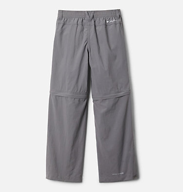Boys' Silver Ridge™ IV Convertible Pants Silver Ridge™ IV Convertible Pant | 271 | XS, City Grey, back