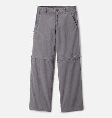 Boys' Silver Ridge™ IV Convertible Pants Silver Ridge™ IV Convertible Pant | 271 | XS, City Grey, front