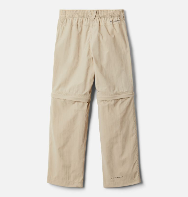 Silver Ridge™ IV Convertible Pant | 271 | XS Boys' Silver Ridge™ IV Convertible Pants, Ancient Fossil, back