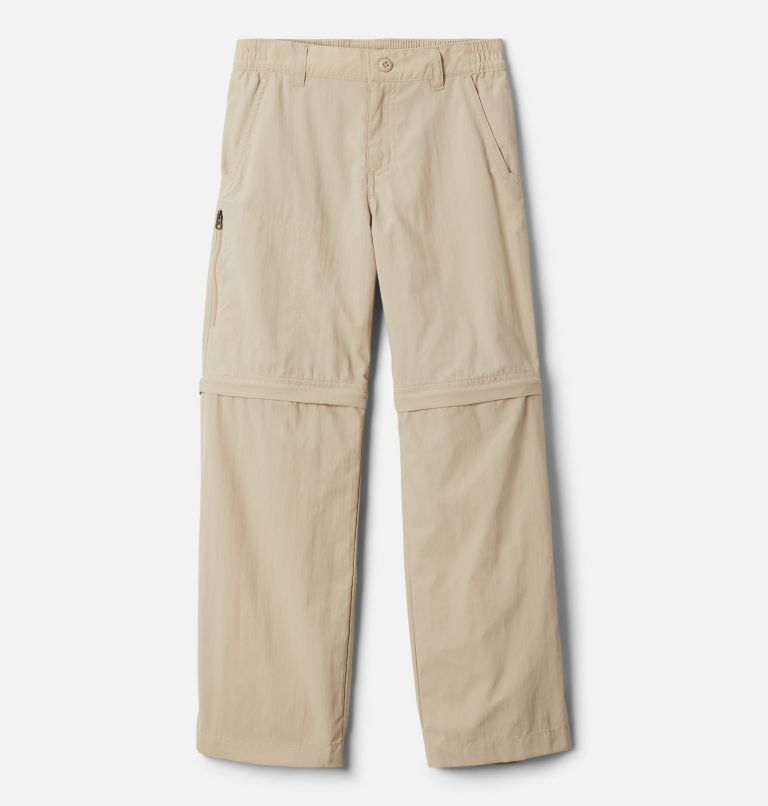 Silver Ridge™ IV Convertible Pant | 271 | XS Boys' Silver Ridge™ IV Convertible Pants, Ancient Fossil, front